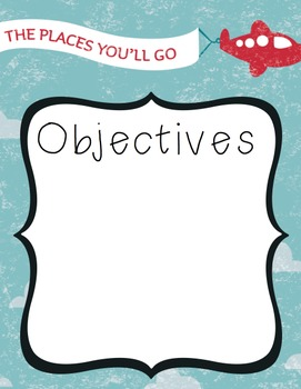 Objectives and Outcomes Wall