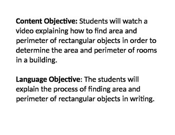 Objectives for animal activities