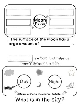 Objects In The Sky: Interactive Science Flip Book