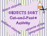 Objects Sort Cut-and-Paste Activity