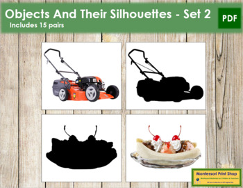 Objects and Silhouettes - Set 2