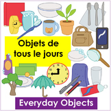 Objets de Tous Les Jours - Everyday Objects Vocab Flashcards and Activities