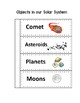 Objects in our Solar System Interactive Notebook Page