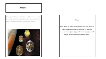 Objects in our Solar System - Sun, Planet, Moons, Asteroids, Comets