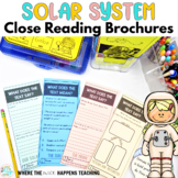 Solar System Close Reading Passages with Questions