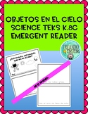 Objects in the Sky Emergent Reader - IN SPANISH