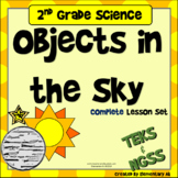 Objects in the Sky & Moon Phases: 2nd Grade Complete Lesson Set