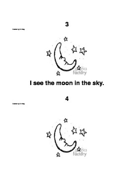 Objects in the Sky Printable Student Reader