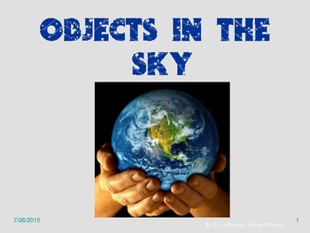 Objects in the Sky Review PowerPoint