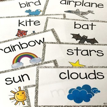 Objects in the Sky Sorting Cards