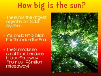 Objects in the Sky PowerPoint