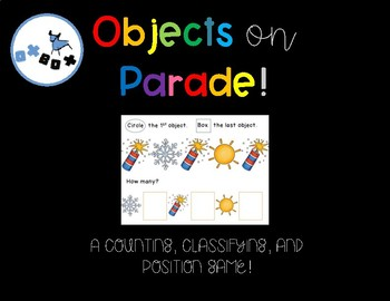 Objects on Parade! A Eureka Math Center for PreK and Kindergarten!