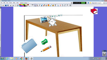 Objetos de Clase y preposiciones / Classroom objects and prepositions