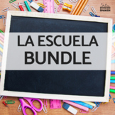 Los Objetos de Clase School Supplies BUNDLE
