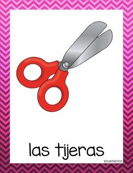 Objetos de la Clase Interactive Notebook, Posters and Flashcards