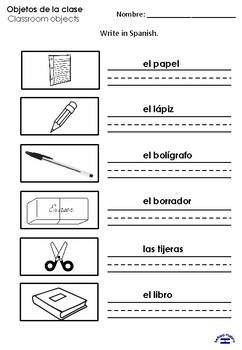 Objetos de la clase 2nd grade