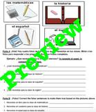 Objetos de la clase (Classroom Objects) y Necesitar
