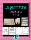 Objets à trois dimensions - Géométrie