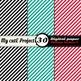 Oblique Stripes 1 -DIGITAL PAPER - Instant Download - Scra