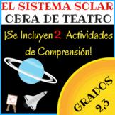 Obra de Teatro Sobre El Sistema Solar (Para Niños)