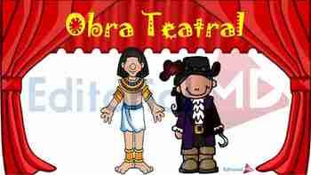 Obras De Teatro Para Niños De Primaria By Editorial Md Tpt