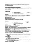 Observable Properties Lesson Plan