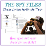 Observation Aptitude Test - The Spy Files
