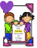 Observation Binder **Editable** for Ontario (FDK) Kindergarten