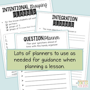 Observation & Evaluation Tips, Sample Lesson Plans, Checklists, Guides, & More!