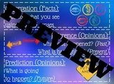Observation, Inference, and Prediction poster