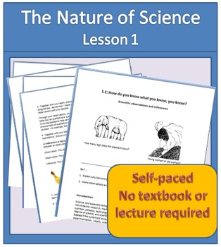 Observation, Inference, and the Nature of Science Student Activity Packet 1