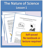 Observation, Inference, and the Nature of Science Student
