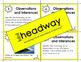 Observation & Inferences Task Cards
