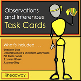Observation & Inferences Task Cards