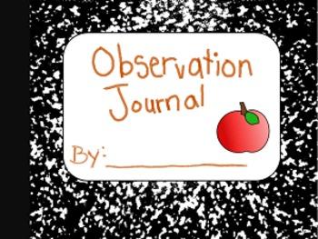 Observation Journal (Apple Studies)