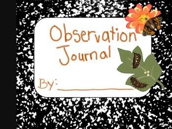 Observation Journal (Butterfly Hatch)