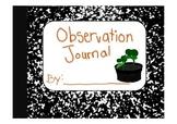 Observation Journal (Growing Plants)