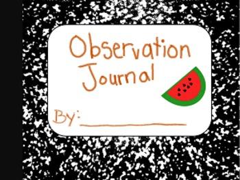 Observation Journal (Watermelon Studies)