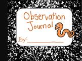 Observation Journal: (Worm Composting)