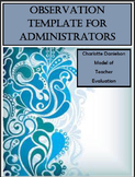 Observation Template for Administrators