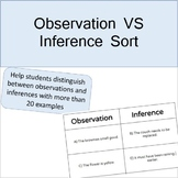 Observation VS Inference Sort