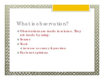 Observation Vs Inference Notes and Practice