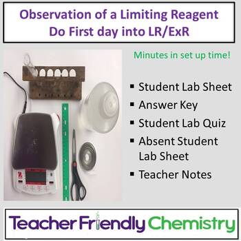 Chemistry Lab: Observation of a Limiting Reagent