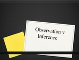 Observation v. Inference PPT by Zie