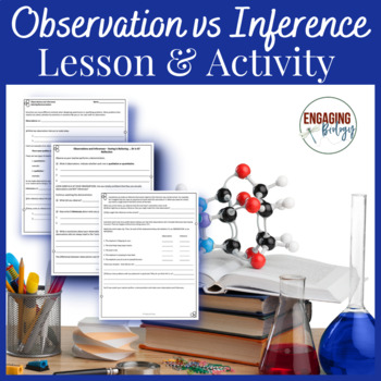 Observation vs. Inference Notebook Activity Bundle