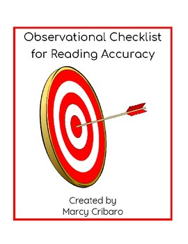 Observational Checklist:  Reading Accuracy
