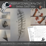 High School Art Lesson - Observational Drawing Lesson - Co