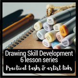Observational drawing skills development unit of work