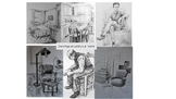 "Observational drawings ""Around the home"" 6 drawing tasks s"