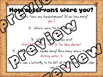 Observations & Inferences PowerPoint